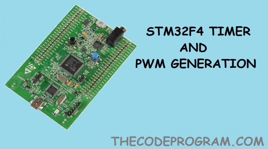 STM32F4 Timers and PWM Generation With Std Periph