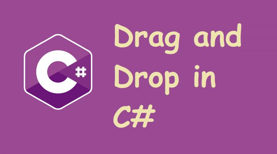 Drag and Drop in C#