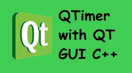 QTimer with QT GUI C++