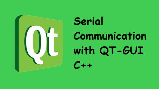 Serial Communication with QT-GUI C++