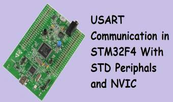 USART Communication in STM32F4 With STD Periphals and NVIC