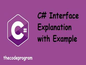 C# Interface Explanation with Example