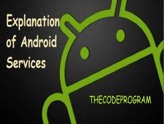 Explanation of Android Services with Example