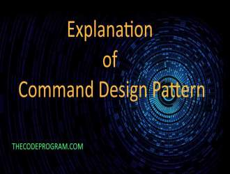 Explanation of Command Design Pattern