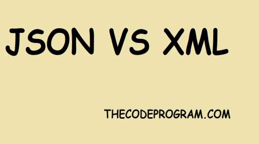 JSON data vs XML data