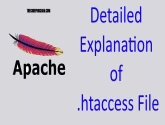 Detailed Explanation of .htaccess File