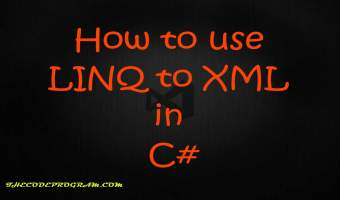 How to use LINQ to XML in C#