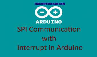 SPI Communication with Interrupt in Arduino