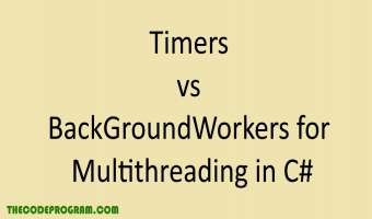 Timers vs BackGroundWorkers for Multithreading in C#
