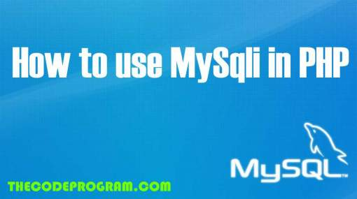 How to use MySqli in PHP