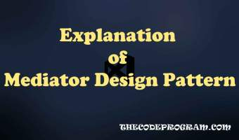 Explanation of Mediator Design Pattern