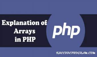 Explanation of Arrays in PHP