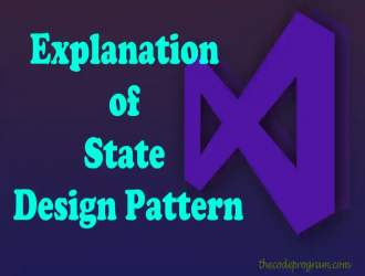 Explanation of State Design Pattern