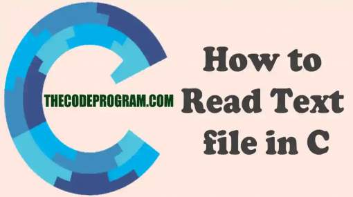 How to Read Text file in C