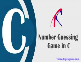 Number Guessing Game in C