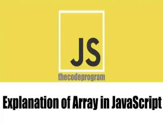 Explanation of Array in JavaScript